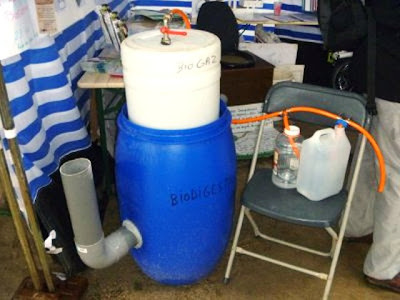 Small Scale Kitchen Waste Bio Gas Plant By Recycled