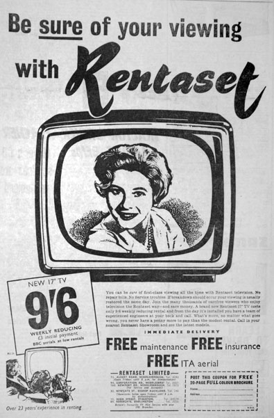 We got our first TV set, a Sobell, from this company