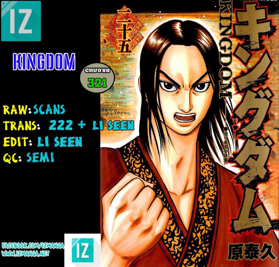 Kingdom – Vương Giả Thiên Hạ (Tổng Hợp) chap 321 page 1 - IZTruyenTranh.com