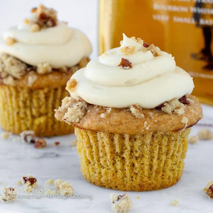 Pumpkin Pecan Pie Cupcakes from American Heritage Cooking +Lindsey ...