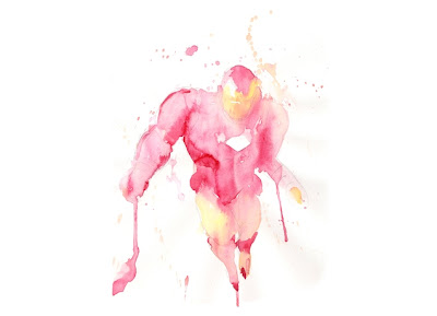Marvel x Threadless Iron Man T-Shirt Collection - Water & Iron