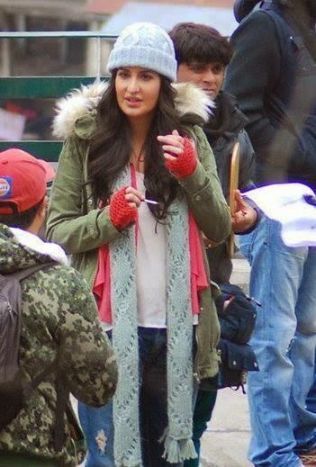 Katrina Kaif Still From Bang Bang Film On The Sets