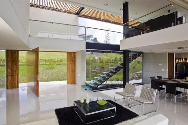 Casas minimalistas y modernas elegante y moderna casa en for Casas premoldeadas minimalistas