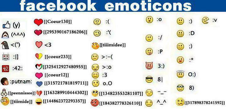 facebook funny chat emoticon.
