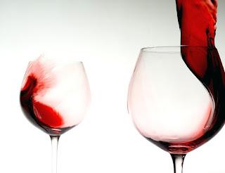 copas, vino, caldos, vidrio,