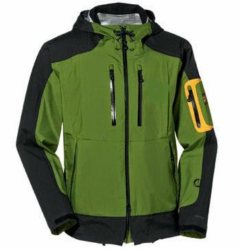jaket gunung warna hijau