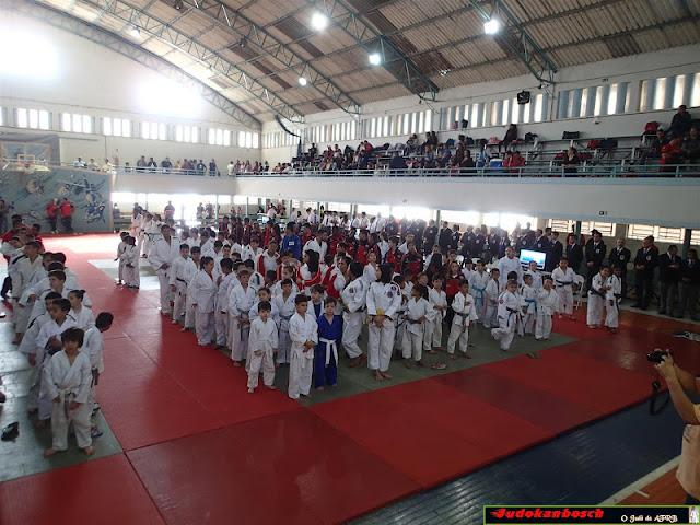 Campeonato de Judô em Amparo