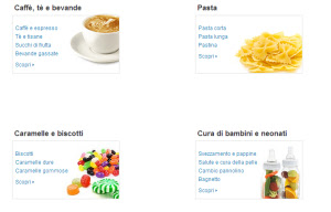compra cibo su amazon