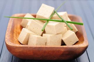 Tofu in a bowl