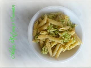 Pasta con broccolo romano