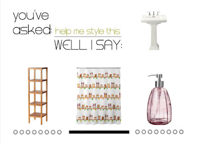 Help me style this: rinnovare il bagno