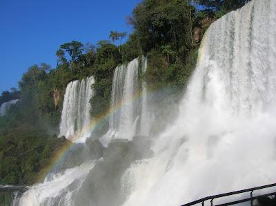 Circuito inferior de las cataratas del iguazú: saltos Bossetti, Adán y Eva.