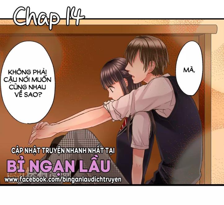 Một Giây Để Hôn Em Chap 14 - Next Chap 15