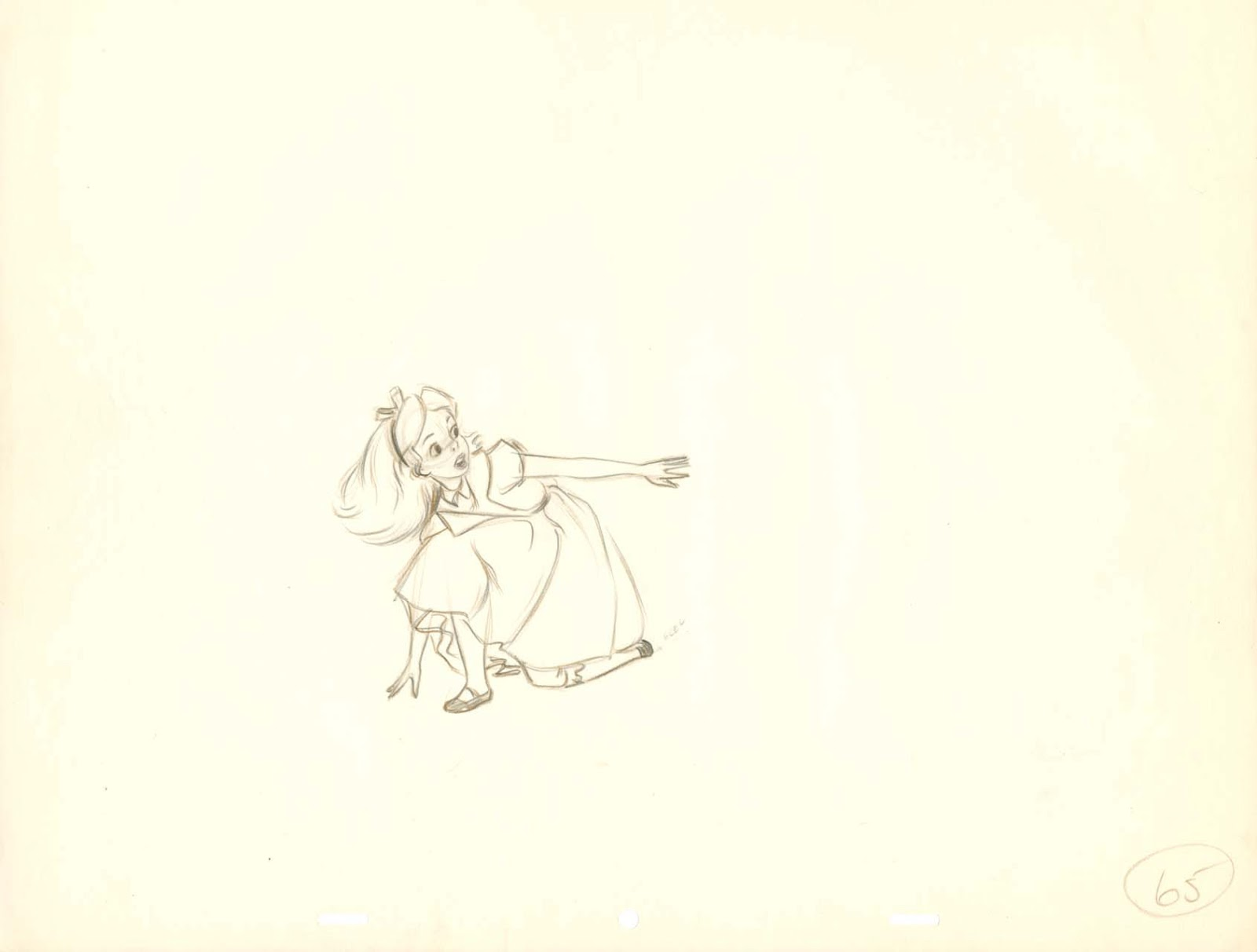 If I M Not Mistaken I Believe This Sequence Was Animated By Don Lusk Alice  In Alice In Wonderland Coloring Pagealice In Wonderland Rabbit Hole Drawing