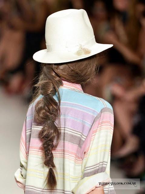 peinados trenzas 2015