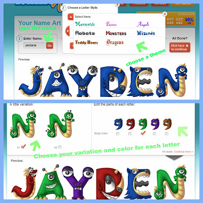 Name Gifts for Kids