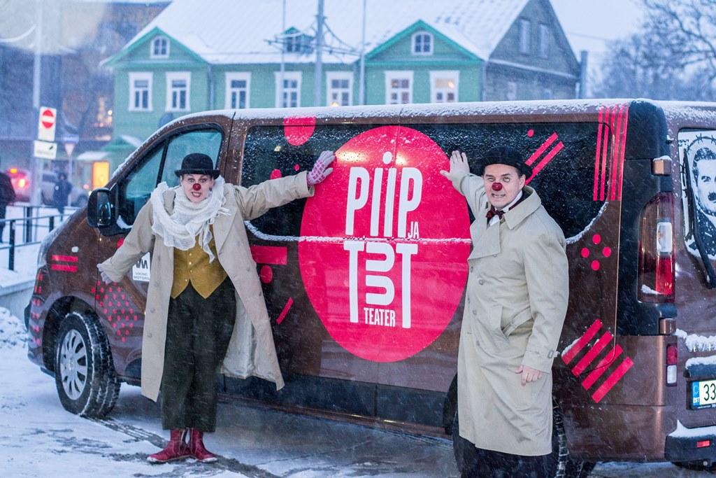 Kuidas Piip ja Tuut Teater Opelisse sai? Viking Motors pani!