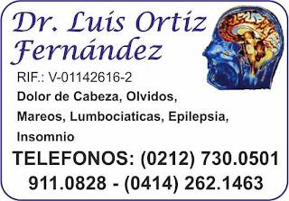 DR. LUIS ORTIZ FERNANDEZ en Paginas Amarillas tu guia Comercial