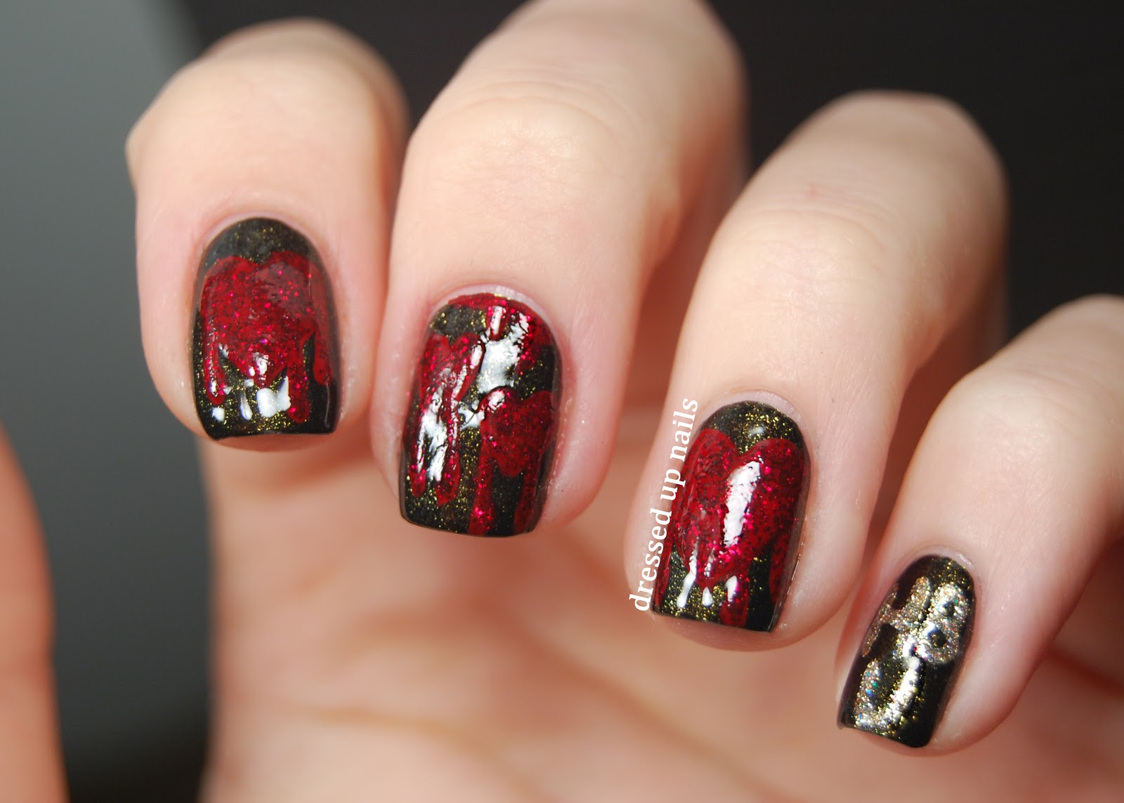 Nails !! Bleeding-hearts-nail-art-1