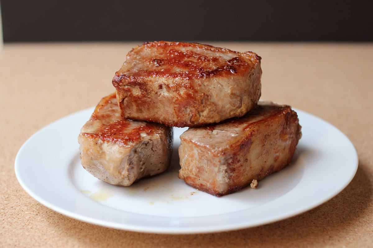 Sous Vide Pork Chops Recipe — Dishmaps