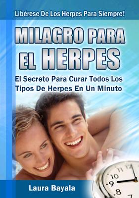 Milagro Para El Herpes Libro Milagro Para El Herpes [Libro]