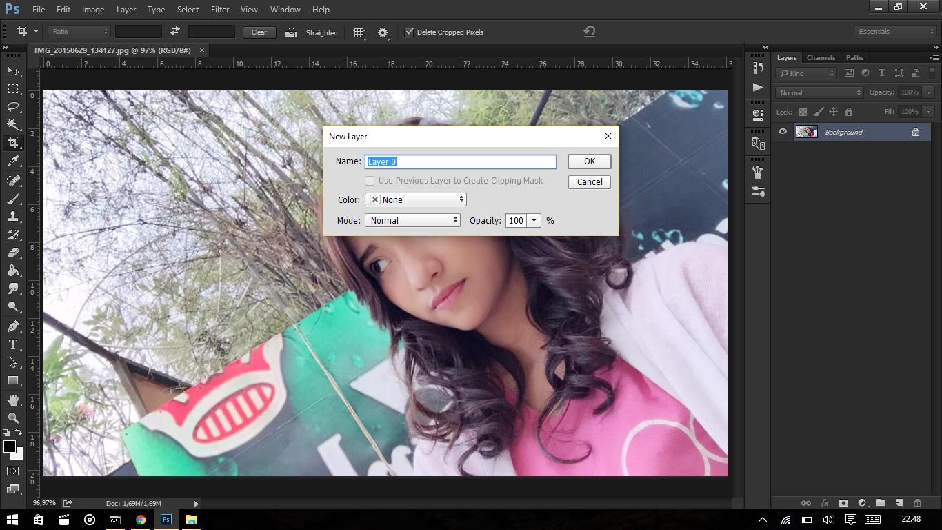 Cara Membuat Efek Instagram dan VSCO Sederhana Pada Adobe