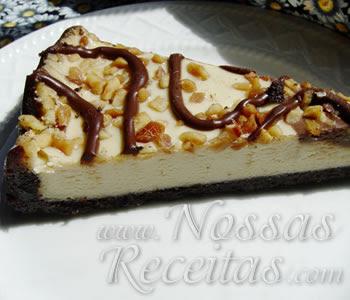 receita de cheesecake sem glútem fácil de preparar