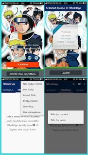 WhatsApp+ & WhatsApp2+ Mod Apk Naruto Themes (WA+)