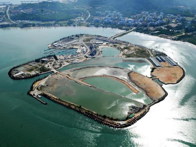 tempat menarik bercuti di perak, marina island tempat percutian menarik di perak, rockbund fishing chalet,
