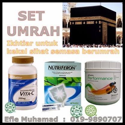 vitamin semasa umrah