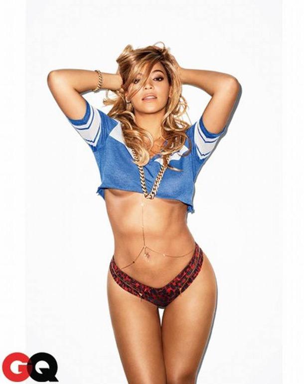 Beyoncé nua e pelada em ensaio sensual na GQ