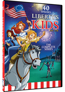 animated series for kids, Revolutionary War, Millcreek Entertainment