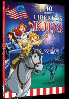 animated series for kids, Revolutionary War, Millcreek Entertainment