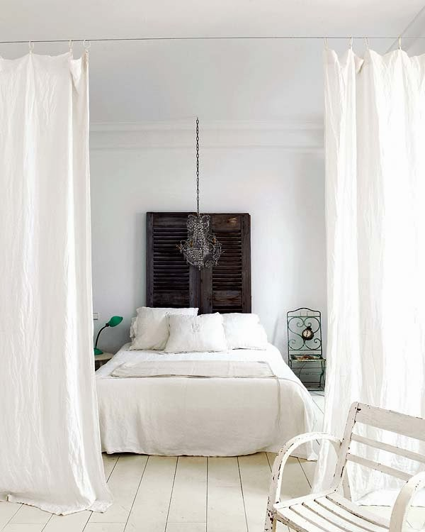dormitorios con encanto shabby chic