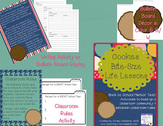 https://www.teacherspayteachers.com/Product/Cookies-Bite-Size-Life-Lessons-Back-To-School-Mentor-Text-802122