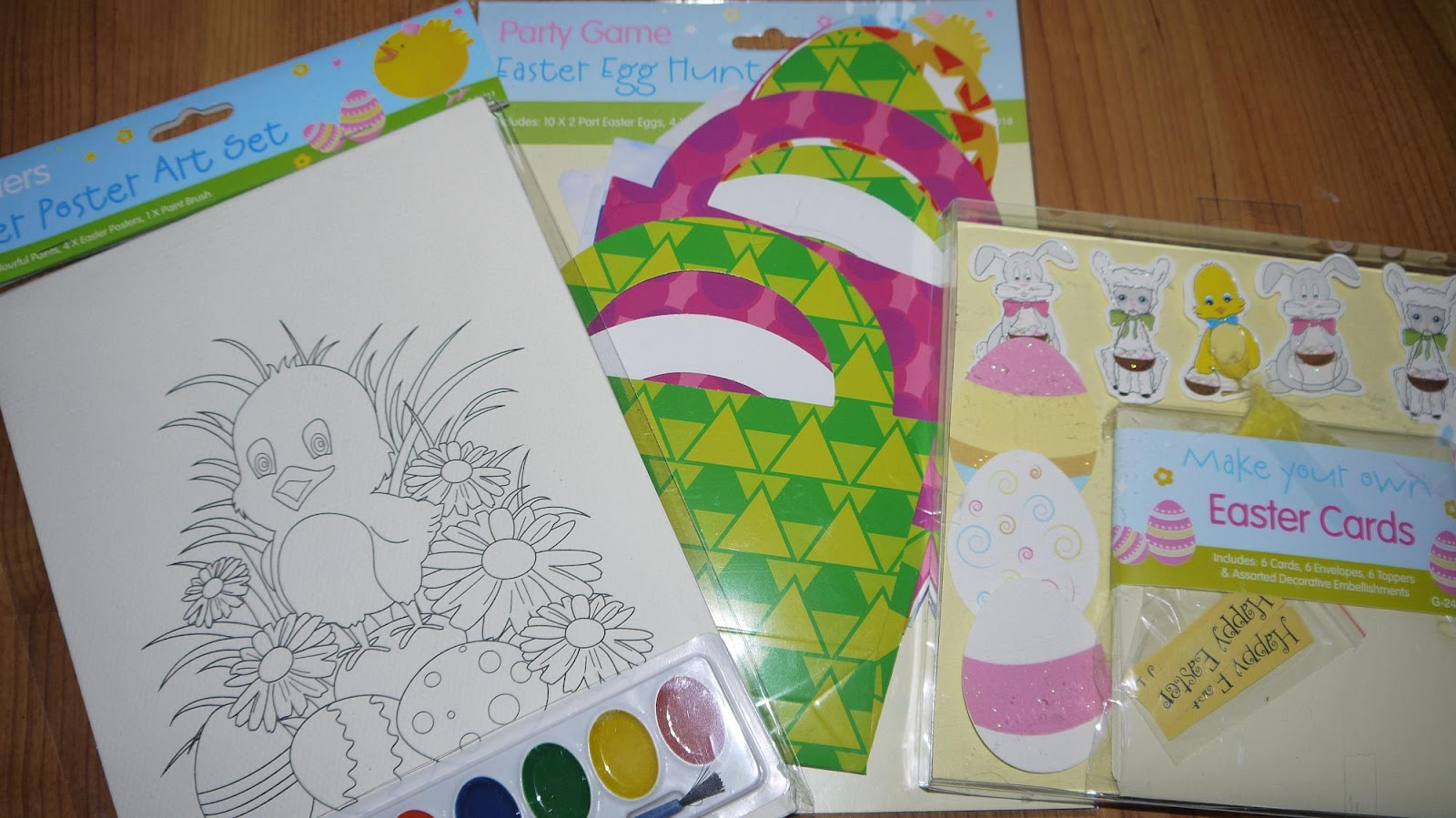 Inside the Wendy House Cracking Easter Bargains with Poundworld – Make Your Own Easter Cards