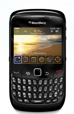 New Black Berry Curve 8520