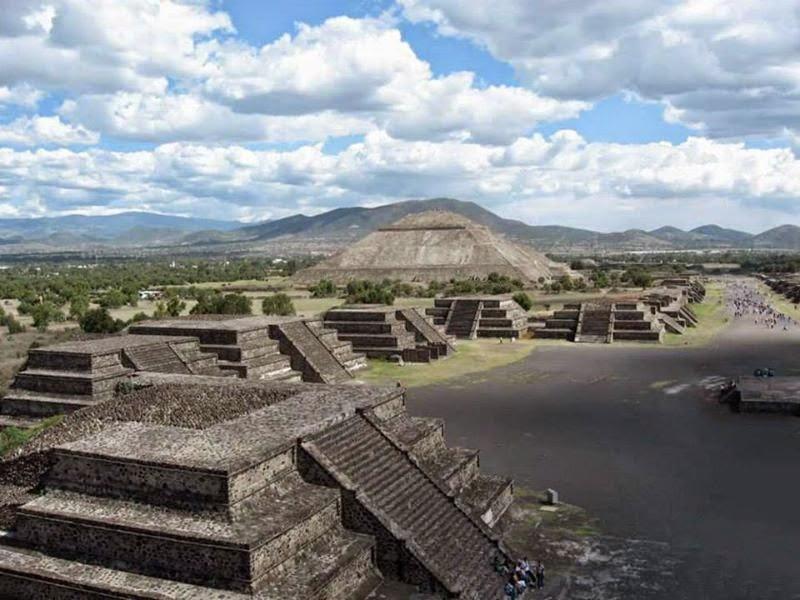 Valle di Teotihuacan - Teotihuacan (Messico)