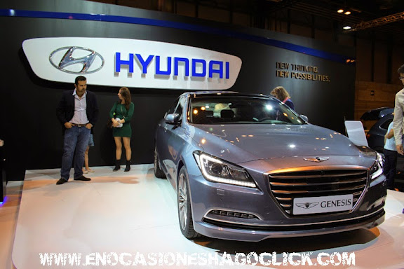 Hyundai Genesis salon del automovil de madrid 2014