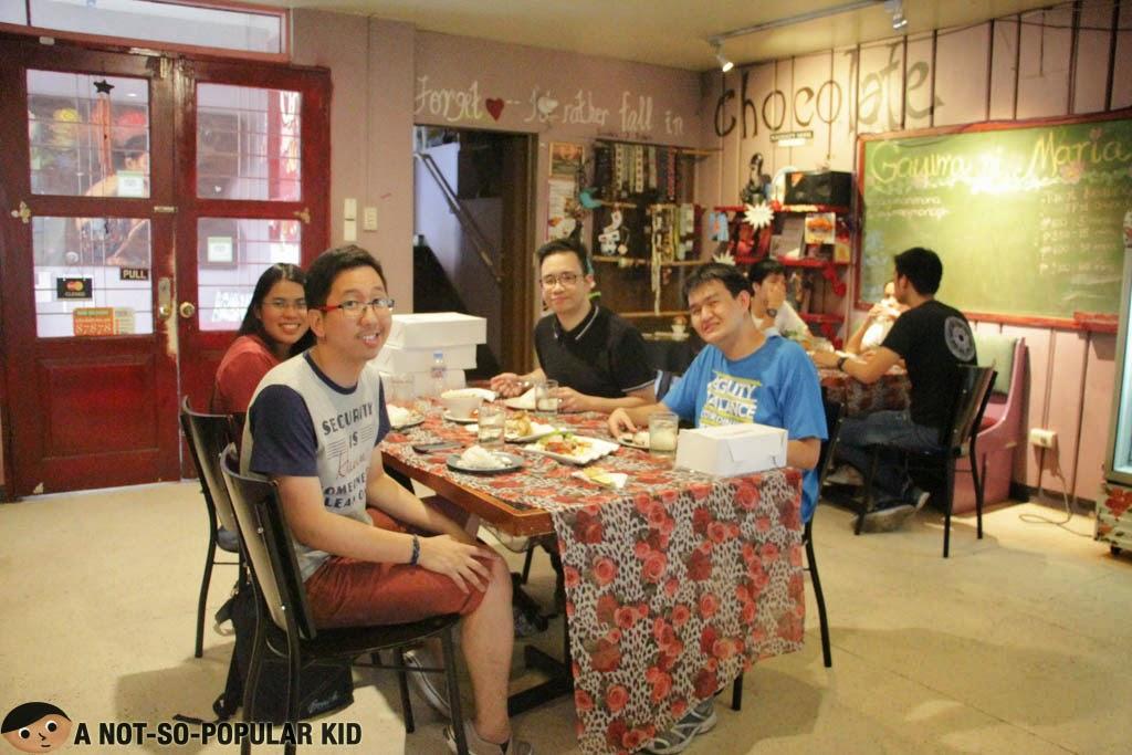 Renz Cheng, Roan Silverio, Emil Ong and Shawn Yap - Gayuma ni Maria