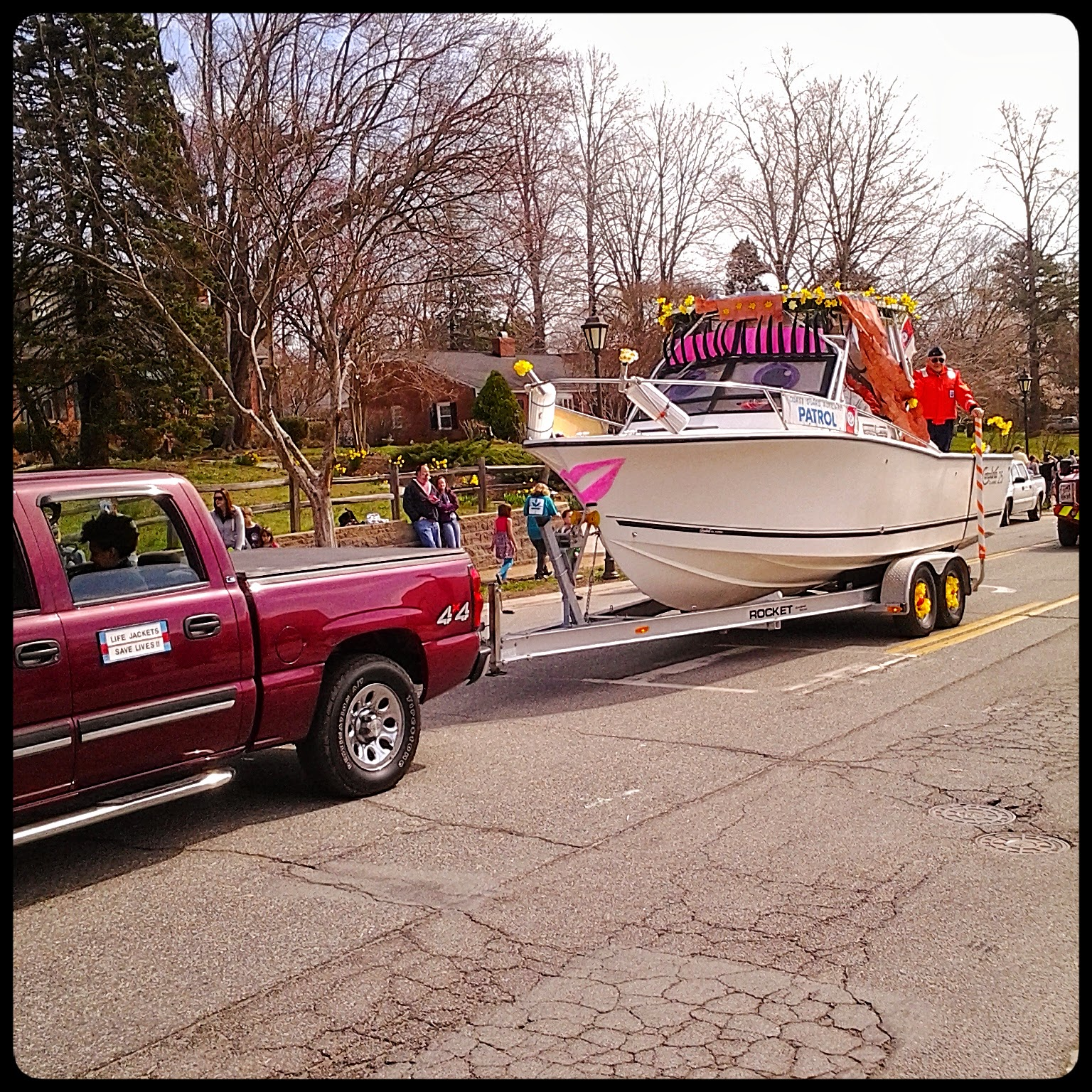 Parade at 28th Annual Gloucester Daffodil Festival via foobella.blogspot.com