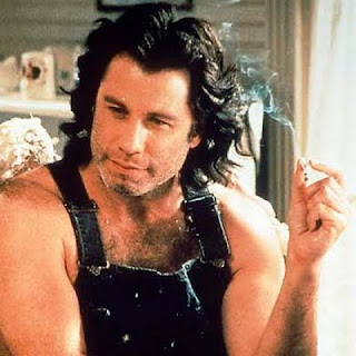 john travolta smoking