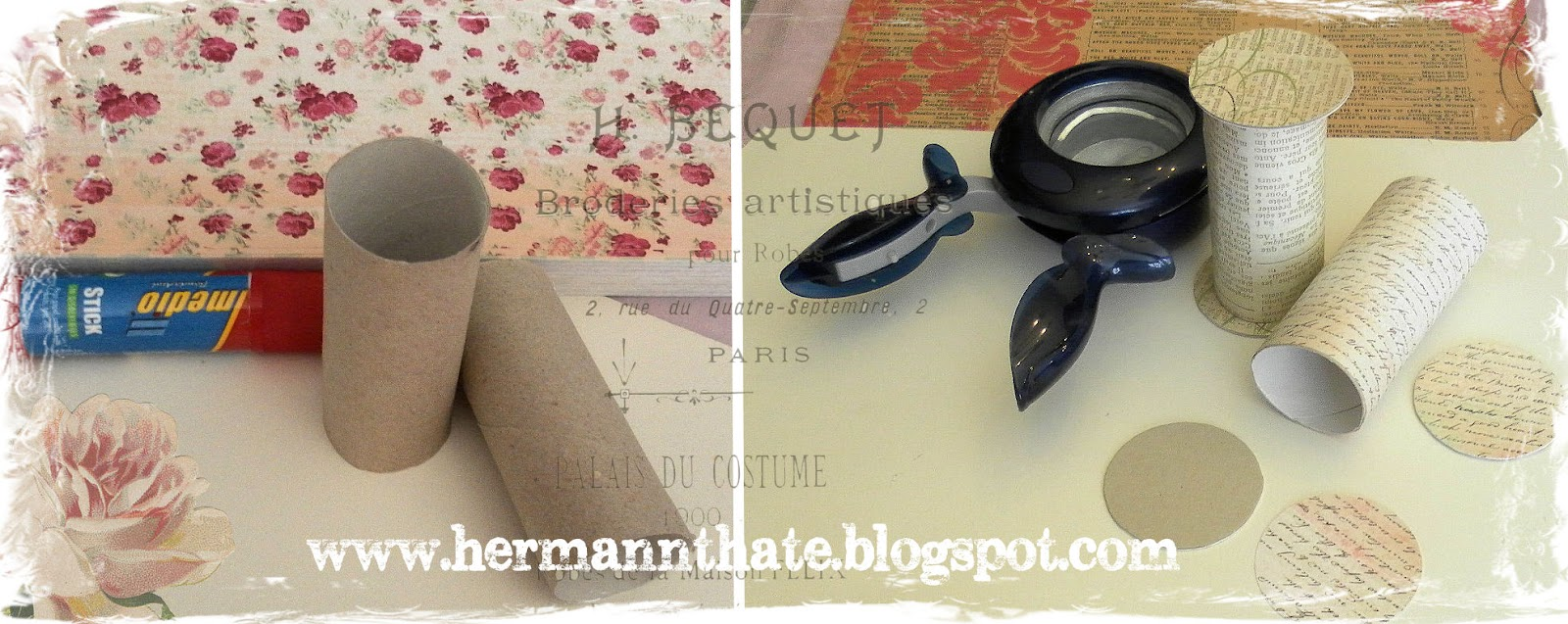 Manualidades con rollos de papel higinico car interior - Manualidades con rollos de papel ...