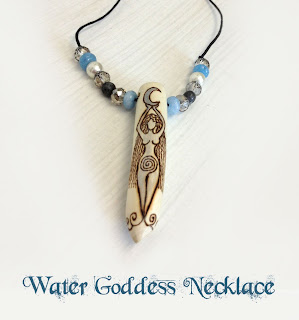 Water Goddess necklace from MoonsCrafts )0(