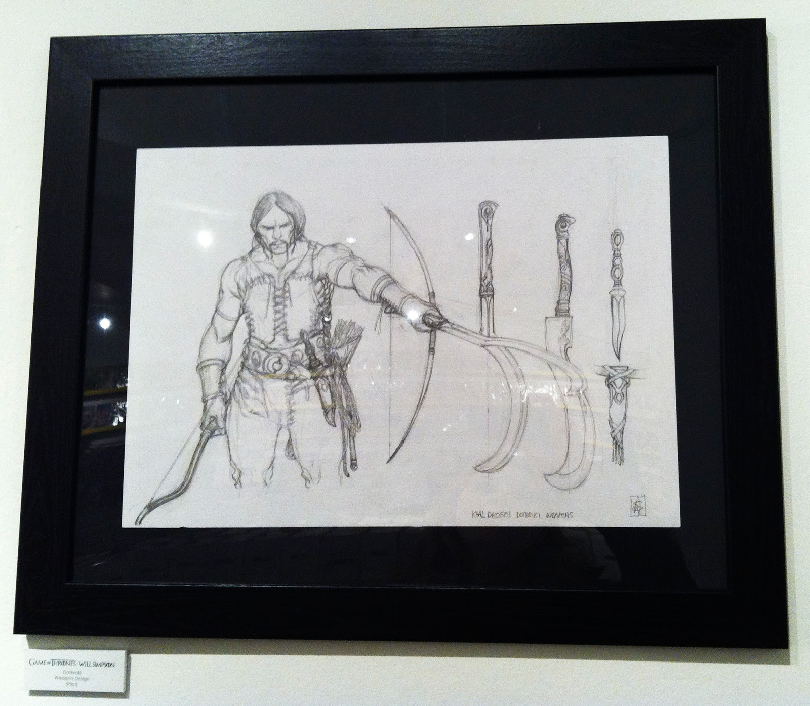 Geek Girl: Will Simpson: The Art of Game Of Thrones at Orbital Comics