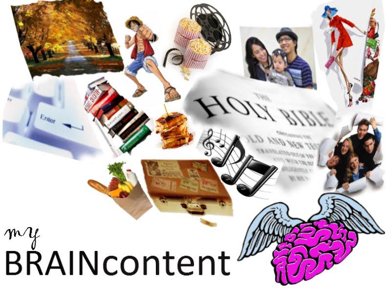 my brain content