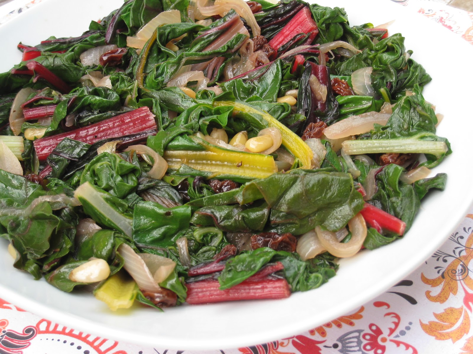 how to cook swiss chard vegan