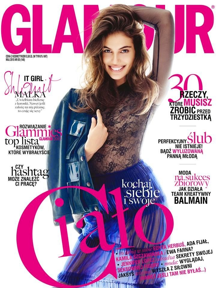 Fashion Model @ Shiloh Malka - Glamour Poland, May 2015