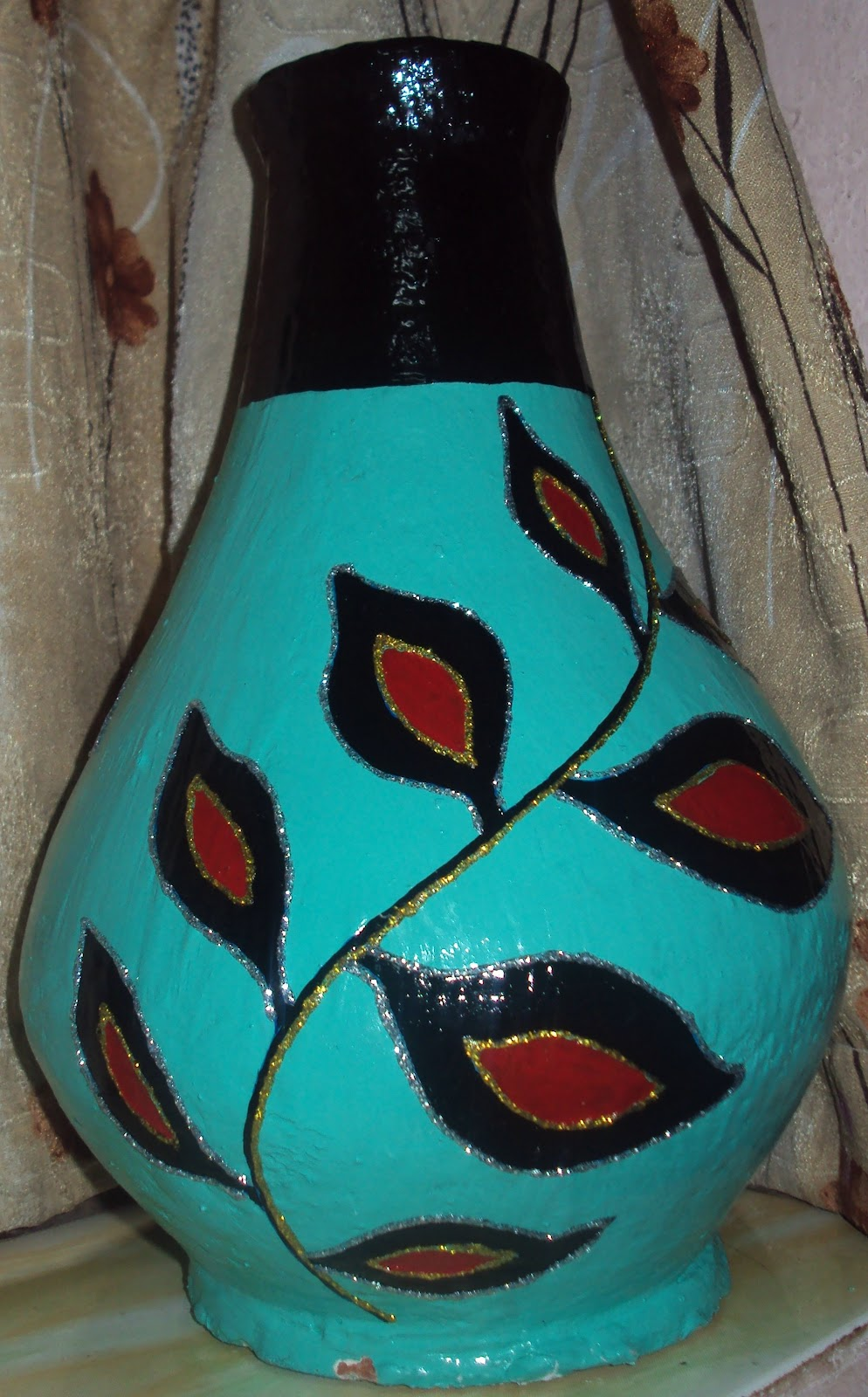 Monde cr atif pottery painting for Design patterns for pot painting