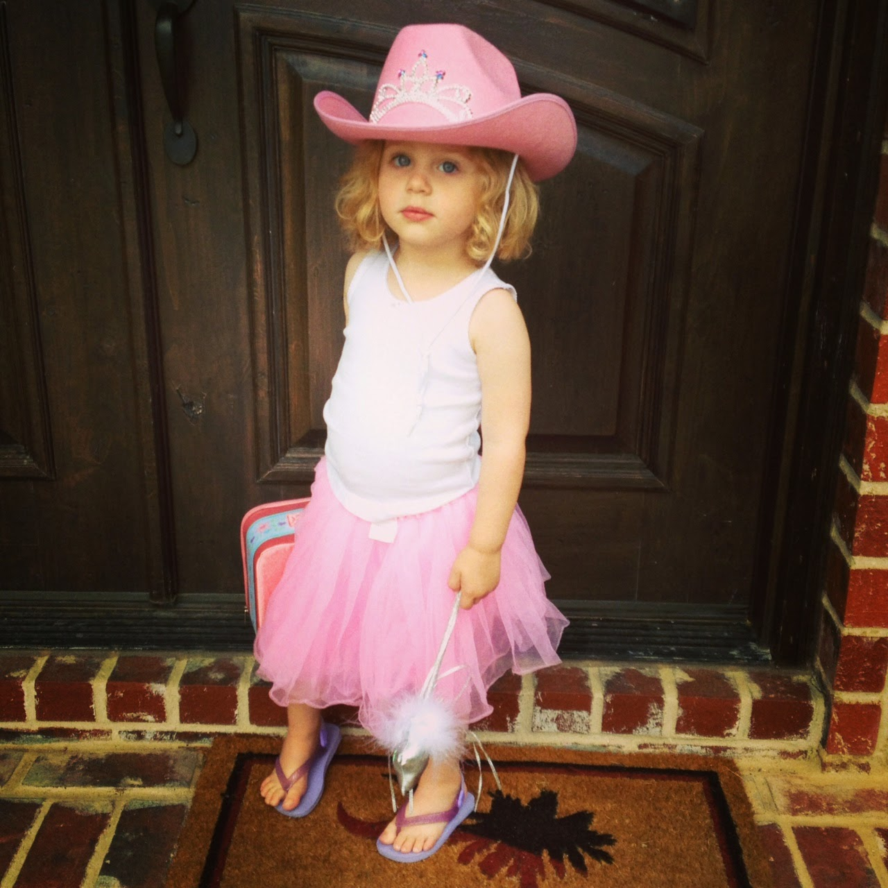 Princess Cowgirl and Her Wand